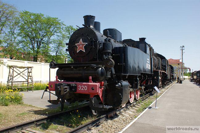 Экскурсия на ретропоезде