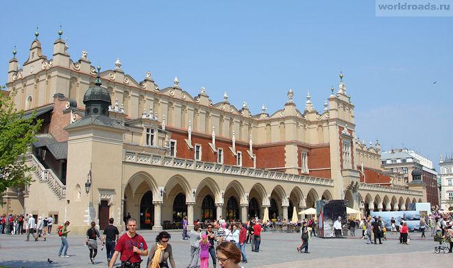 Рыночная площадь Краков