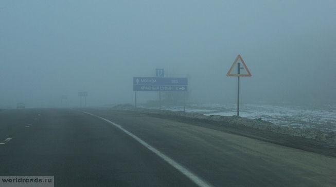 Дорога на Красный Сулин